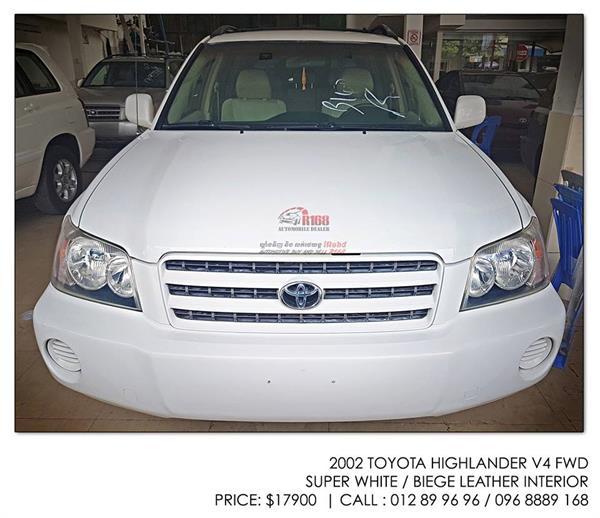 2002 Toyota Highlander For Sale: Toyota Highlander